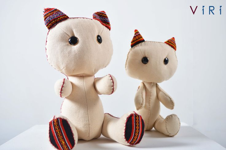 Stuffed toys - Cats set #VIRI #KIDS #TOYS #ANIMALS