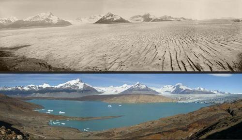 Derretimiento Glaciar Mundial.