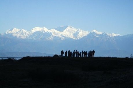 In Kanchenjunga's Shadow.  Standing in the shadow of spectacular Mt Kanchenjunga, the third highest mountain in the world, the Himalayan areas covered in this trip are characterised by the diversity and richness of their cultures, customs, heritage and flora and fauna.