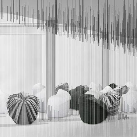 Ghost Stories by Nendo, Cabbage Chair, Friedman Benda Gallery