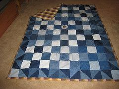 This step by step explains how you prepare denim pants before starting on the quilting process. Then, just decide on a pattern and follow the instructions to create the checkered quilt.