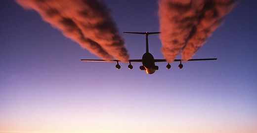 If global air travel were a country, it would be the seventh biggest polluter in the world.