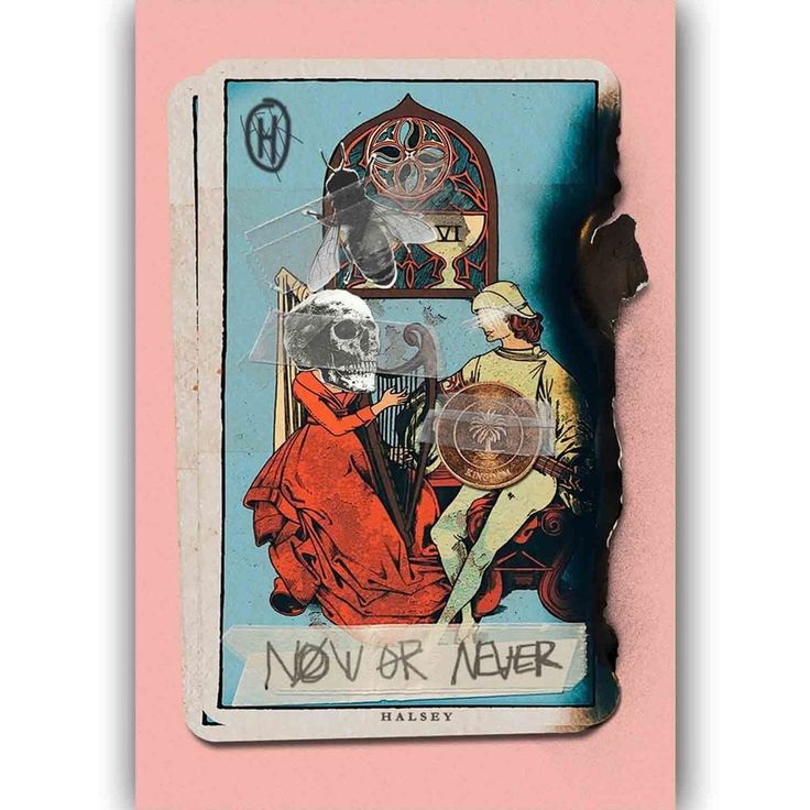 New Halsey Now or Never Custom Music Singer Star Art silk poster  | eBay