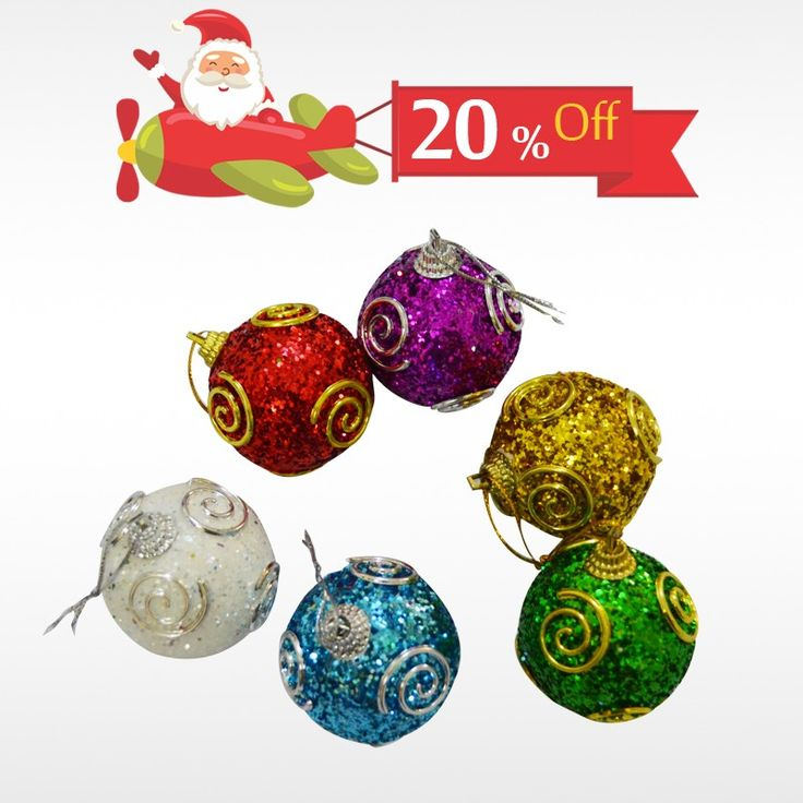Decorate your #ChristmasTree  with authentic Designer Christmas Balls & get 20% off on all #ChristmasDecor only at #BringHomeFestival