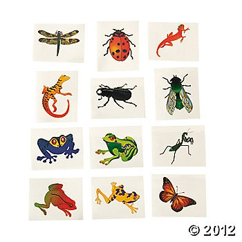 Reptile tattoos for Max's party: Reptiles Tattoo,  Hankey, Reptiles Design, Birthday Parties, Tattoo'S, Parties Ideas,  Hankie, Insects, Temporary Tattoo