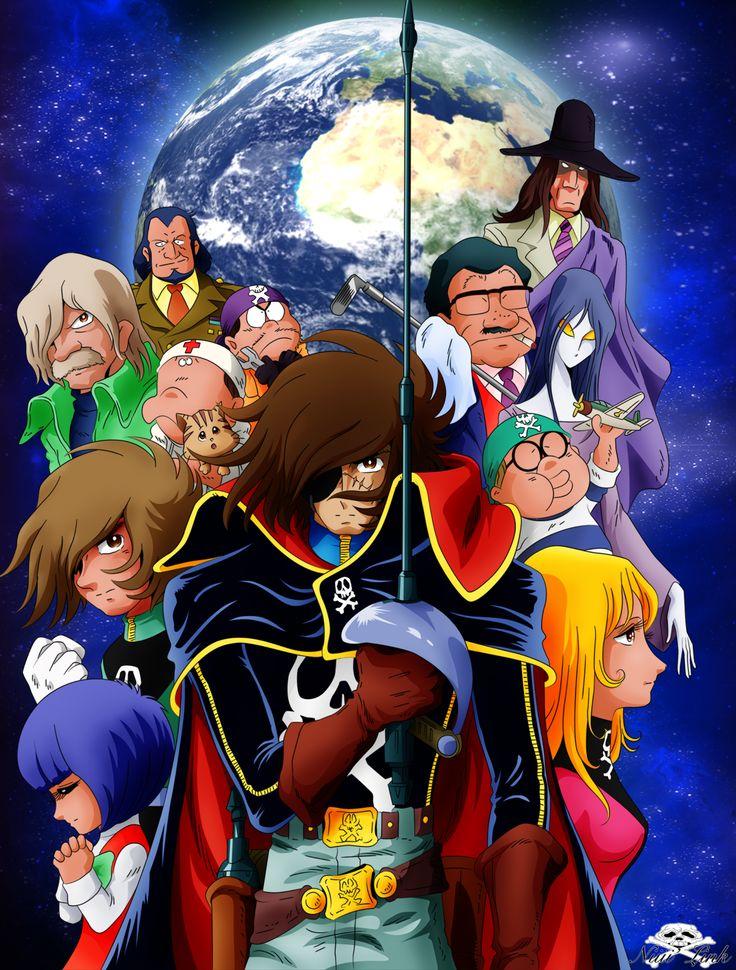 Captain Harlock by Niiii-Link  (fanart)