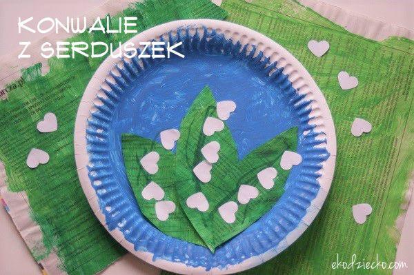 Majowe Konwalie Wiosna Prace Plastyczne Edukacyjne Majowe Kids Rugs Paper Plates
