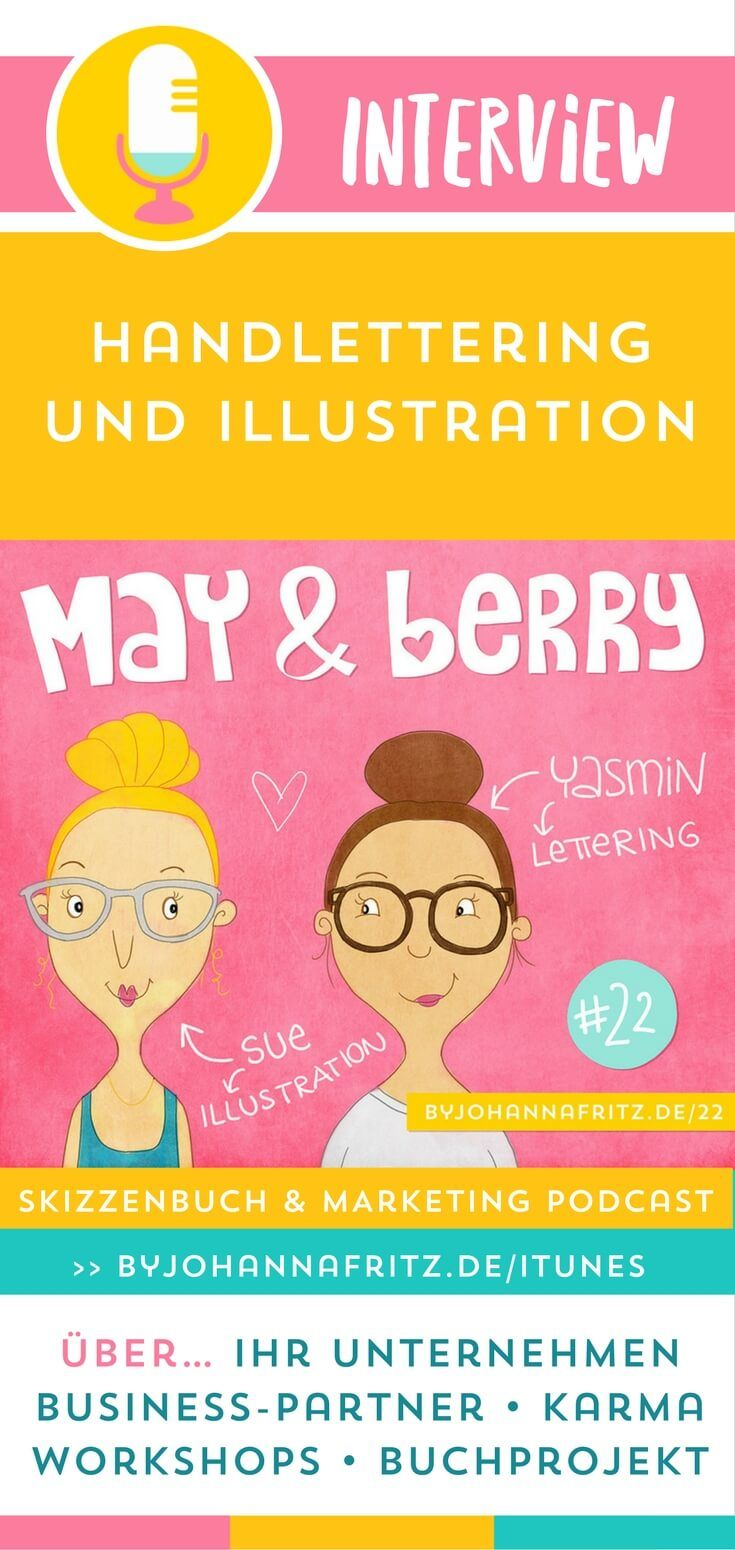 sum22: Handlettering & Illustration von May and Berry