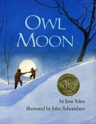 Activities to go with Owl Moon - fantastic!
