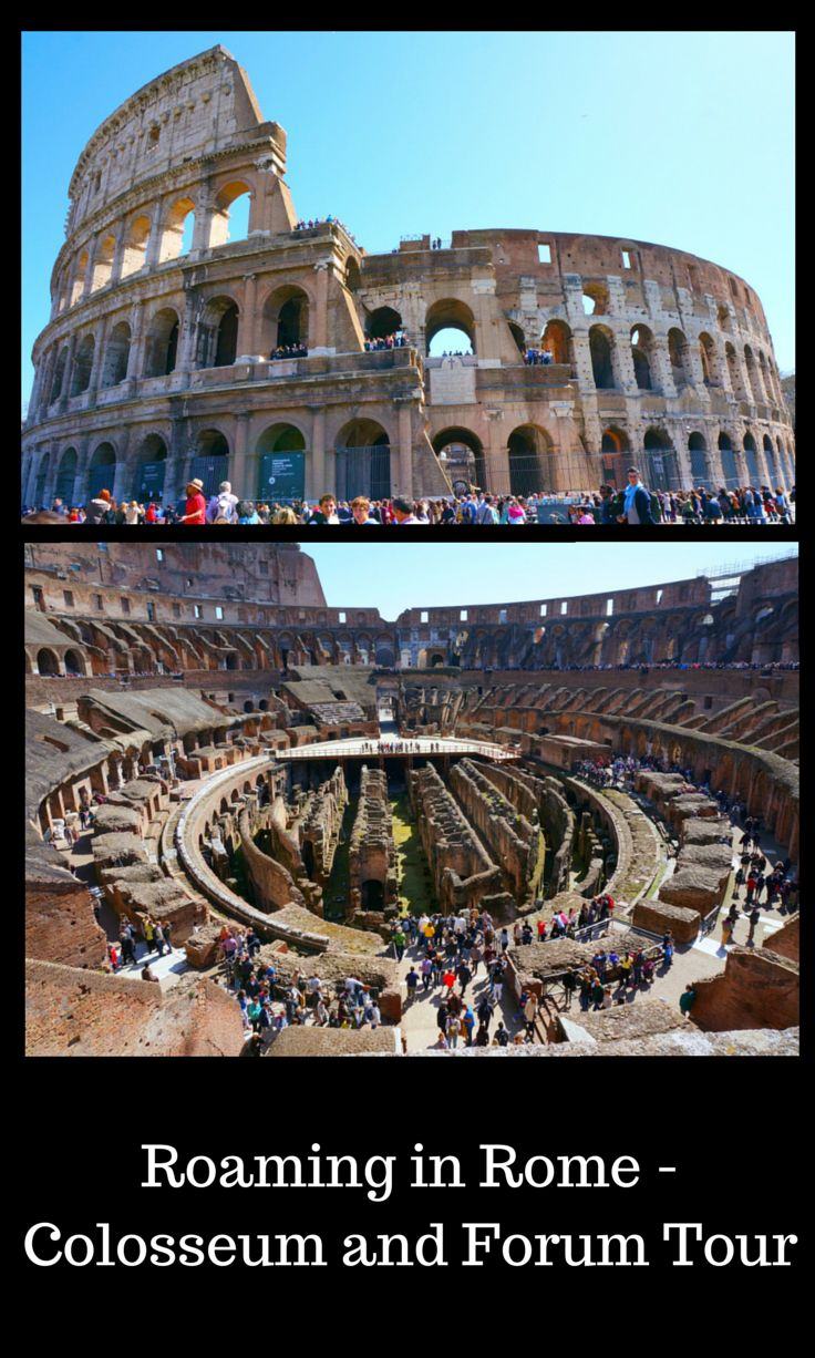 Views of the Roman Colosseum - Read more about the amazing events and consider what it would be like to attend one here hundreds of years ago. Click to find out more! @venturists