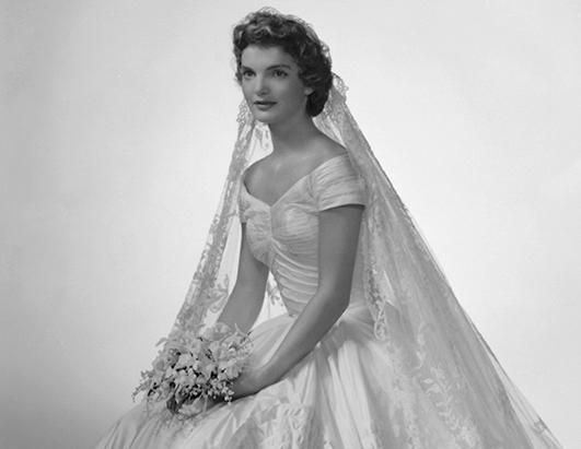 Jacqueline Kennedy 60 Years Ago, as America's Most Beautiful Bride