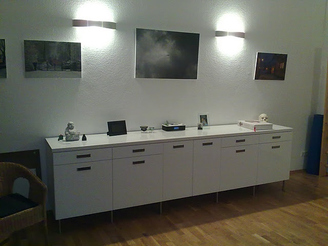 IKEA faktum/abstrakt sideboard hack