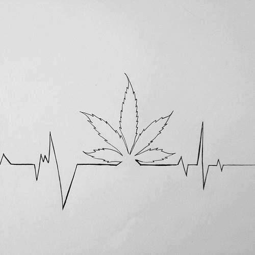 ekg weed tattoo - Szukaj w Google