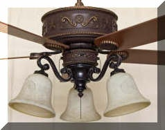 92 best western decor images on pinterest ceiling fan ceiling western ceiling fan with lights aloadofball Images