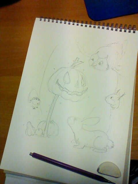 WIP...  I got the idea too late for Halloween. Perhaps next year. :)