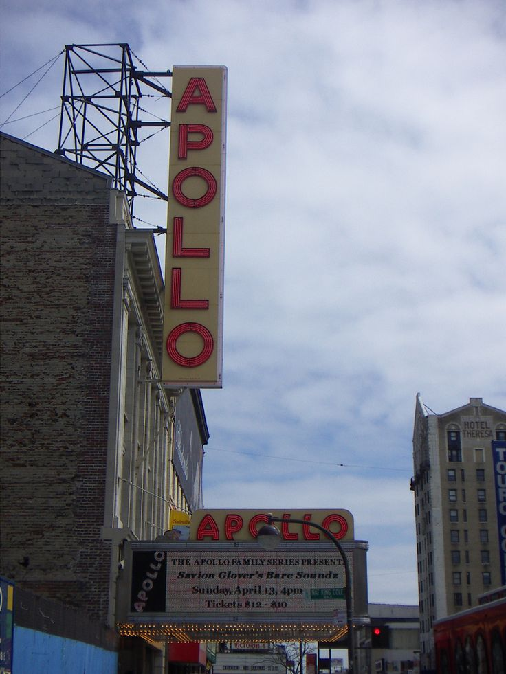 Stop By To Catch A Great Show Tonight At The Apollo Theater. -- New York Pictures