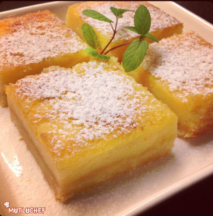 Bu tarif her mevsimde yapılabilen ve çayın yanında damakta ferahlatıcı çok güzel bir limon tadı bırakan bir bar tarifi… Ben tam mevsimi gelmeden aldığım ve en az limon kadar ekşi olan mandali…