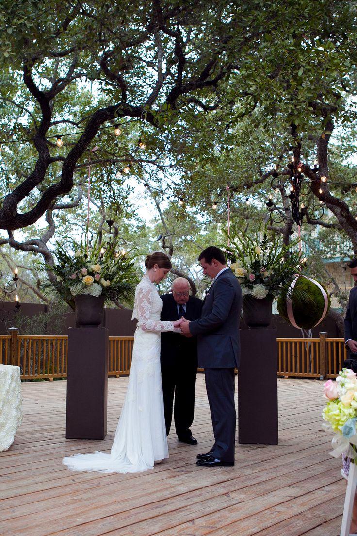 San Antonio Wedding Venues Hill Country Weddings Texas Chic Outdoor In Courtyard Deck Pinterest
