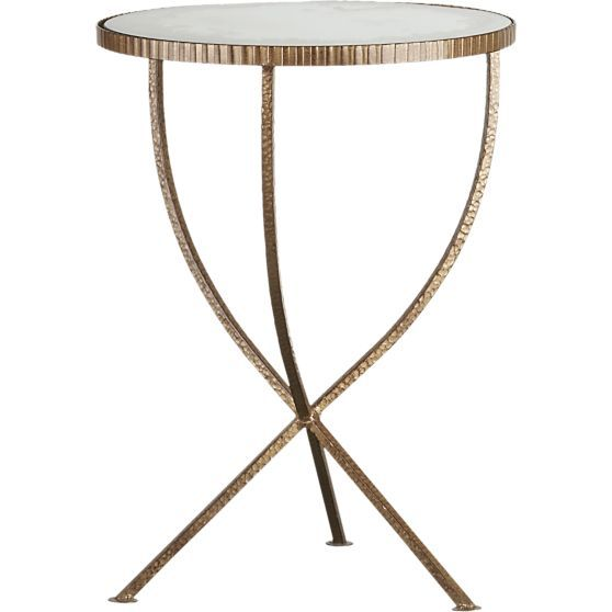 Jules Small Accent Table in Coffee Tables & Side Tables | Crate and Barrel