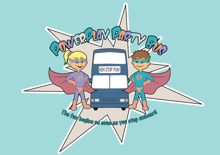 PowerPlay Party Bus official logo.