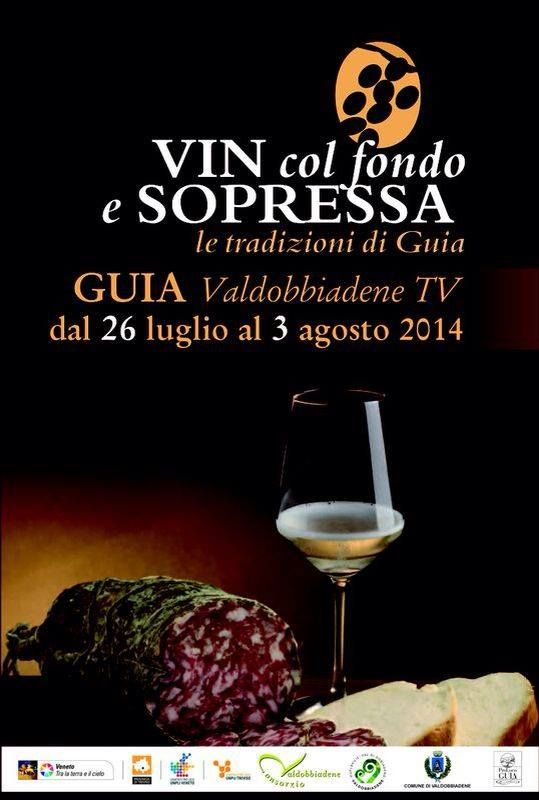 """Saturday 26/07 starts the food and wine festival """"VIN #COLFONDO E SOPRESSA"""" at #Guia of #Valdobbiadene ... Our LOGHIALTI #FRIZZANTE, the traditional wine, the first wine produced by Nonno Tano, is waiting for you for a tasting with bread and #Sopressa!  #journeythroughthetradition"""
