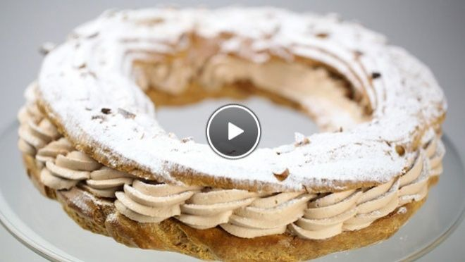 Paris-Brest - recept | 24Kitchen