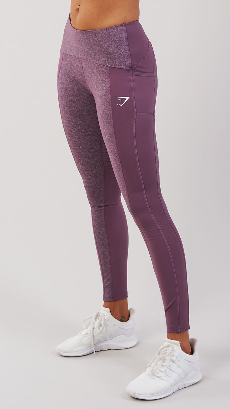 With dual-toned panelling and flattering high waisted fit, the women's Textured Leggings are a new breed of Gymshark legging. Coming soon in Purple Wash.