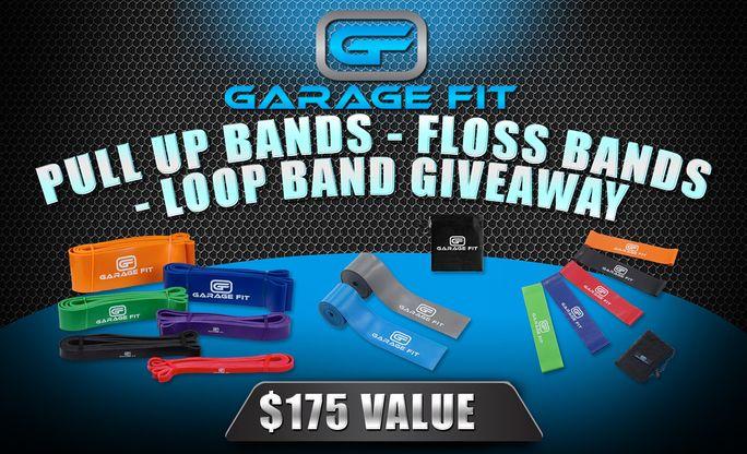 Pull Up Bands, Loop Bands, Floss Bands Giveaway