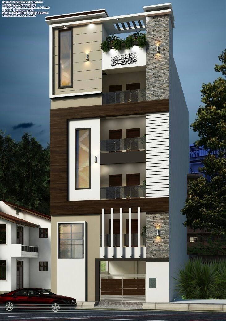 20 Small House Elevation With Floor Plan Small House Elevation House Elevation House
