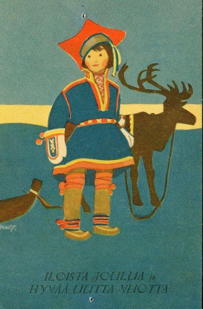 Nordic Thoughts- Finnish postcard - iloista joulua ja hyvää uutta vuotta