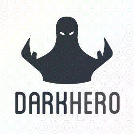 Exclusive Customizable Logo For Sale: Dark Hero   StockLogos.com