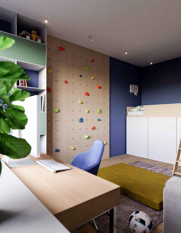 Современная минималистская квартира для молодой семьи
