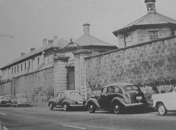 Hobart Gaol, Campbell Street - 1960