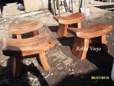 22 best images about bancas de madera on pinterest - Muebles de madera rusticos ...