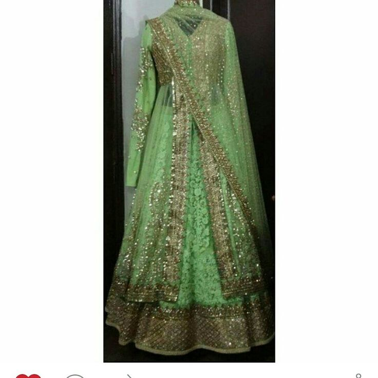 Sabyasachi inspired green jacket style lehenga for reception of our client
