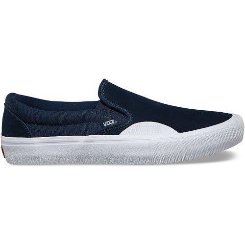 Vans Skate Slip On Pro Mens Footwear Ons - Rubber Dress Blues All Sizes
