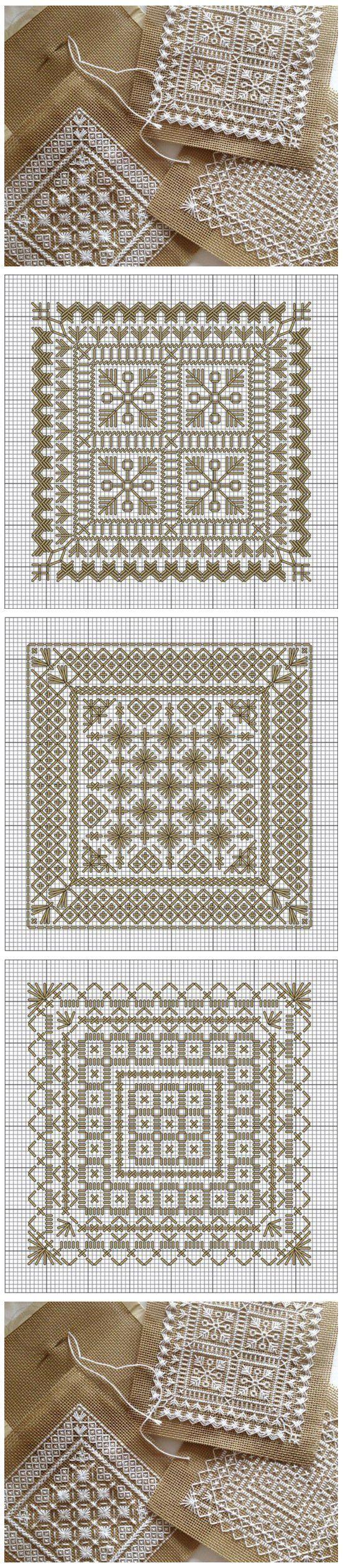 Embroidery patterns   Схемы для изящной вышивки