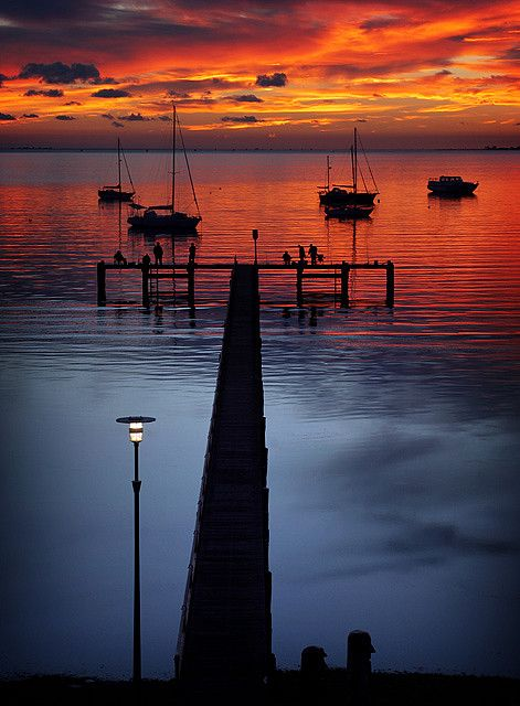 Dawn over Geelong - Australia