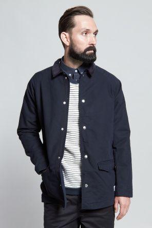 Norse Projects Bertram Broken Twill Jacket Clean | Minimalism | Nordic design
