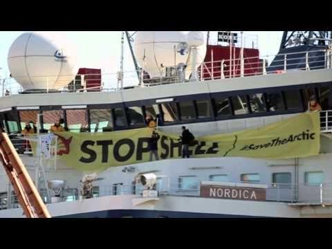 Continua la campagna Save The Arctic promossa da Greenpeace Italia, che ha organizzato la prima #PedalataPolare della storia. Di Mayla Metitiero