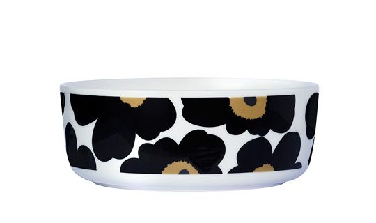 Unikko 50th Anniversary large bowl by Marimekko