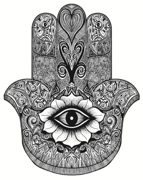 Zentangle tumblr holly brown tattoo pinterest for Hand of fatima tattoo