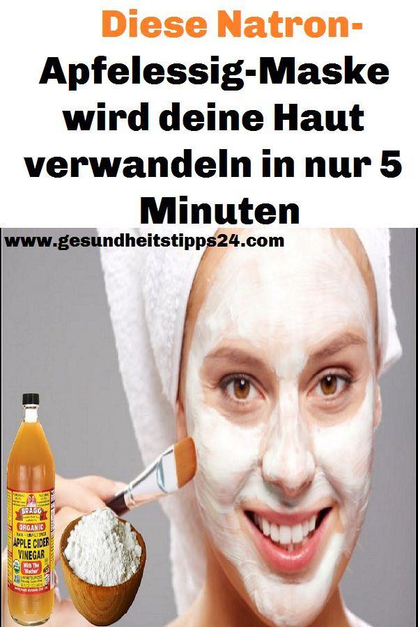 Diese Soda-Apfelessig-Maske verwandelt Ihre Haut i…