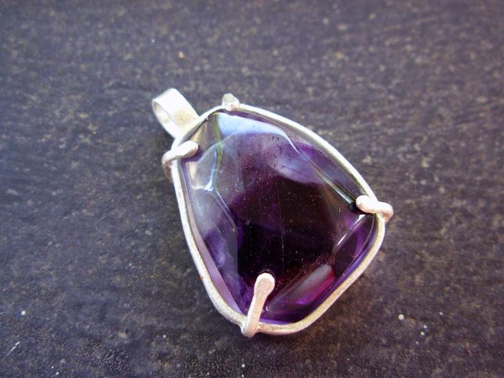 Fluorita Silver Necklace, by Taller Maranatha