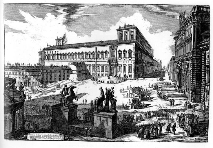Quirinal Giovanni Piranesi - Giovanni Battista Piranesi - Wikipedia