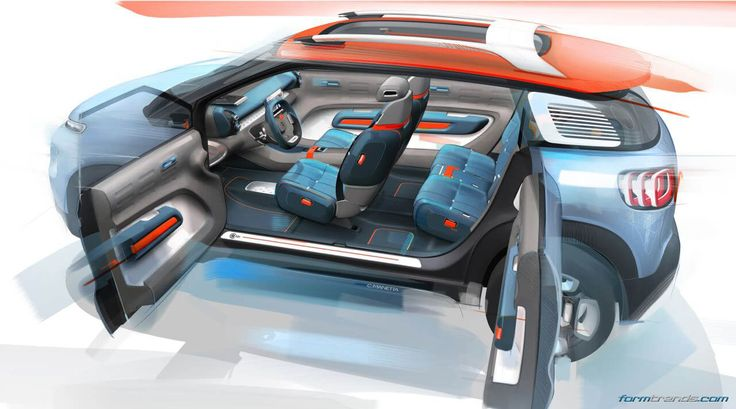 Citroen will debut the C-Aircross concept at the 2017 Geneva motor show. Compact SUV concept previews the C3 Picasso replacement – will go on sale in 2018.