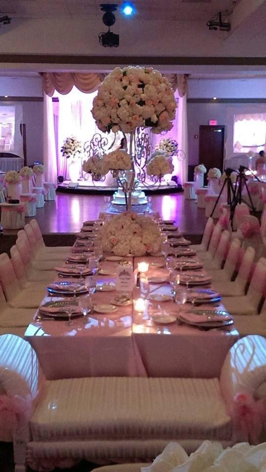 Best centros de mesa para quinceañera y sixteen party