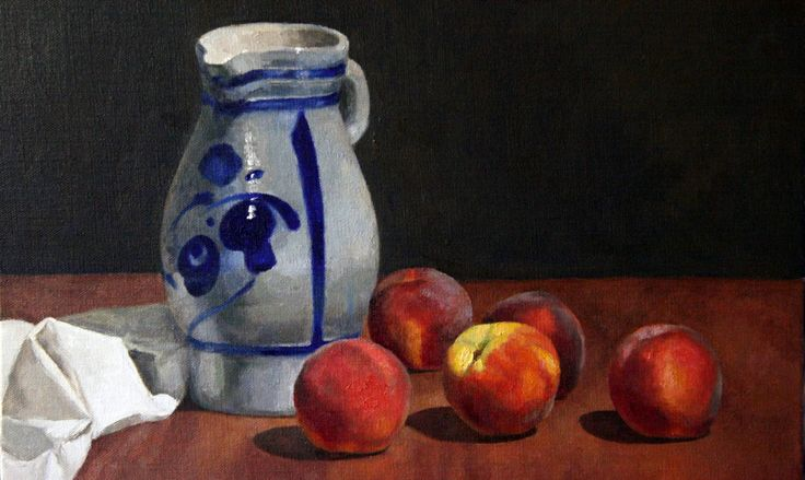 """Peaches with Dutch Jug"" 