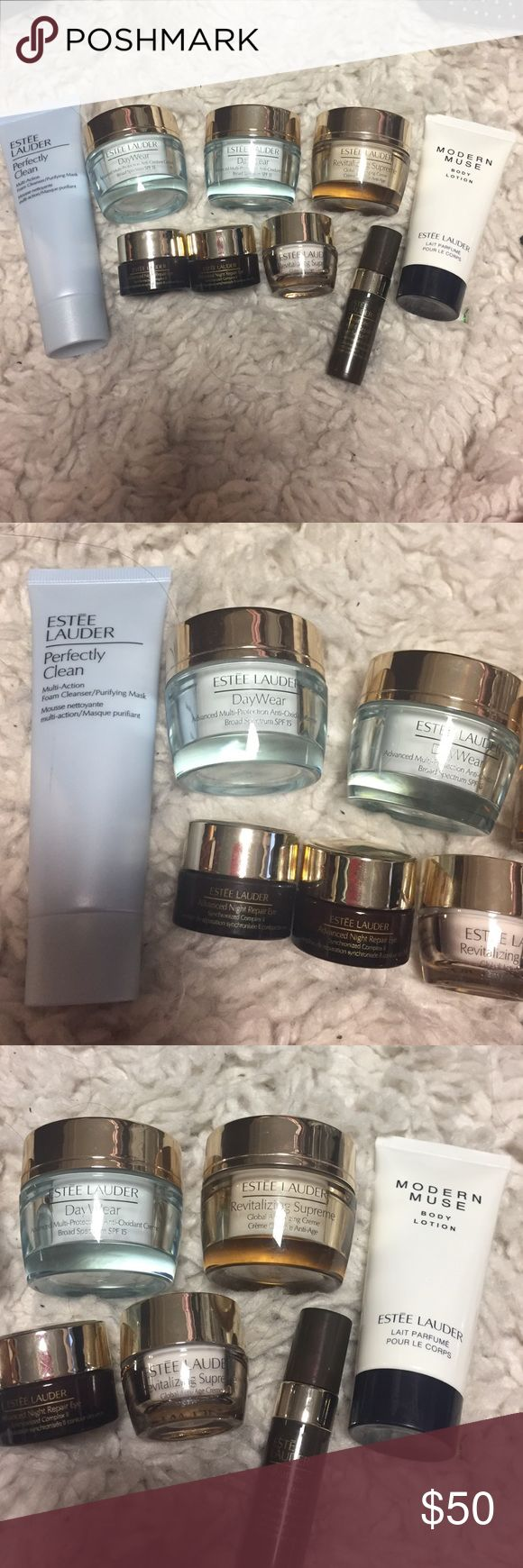 HUGE ESTÉE LAUDER SALE!!! BRAND NEW Estée Lauder day wear, anti aging, night repair eye cream, cleanser, and lotion SALE ALL FULL SIZE Estee Lauder Makeup