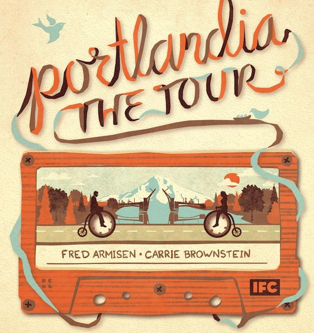 If you're not watching Portlandia yet, start now.  Seriously.  Now.